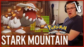 Pokémon DPPt: Stark Mountain Jazz Video Game Saxophone Cover