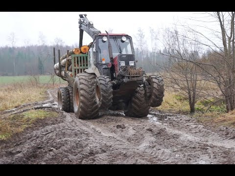Xxx Mp4 Belarus Mtz 892 Forestry Tractor With Homemade Trailer 3gp Sex
