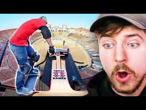 World's Longest Skate Jump