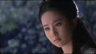 Xiaolongnü Arrival from Return of the Condor Heroes 2006 ep 02, Crystal Liu Yifei, 刘亦菲
