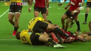 HIGHLIGHTS: 2018 Super Rugby Week #4 Hurricanes vs Crusaders