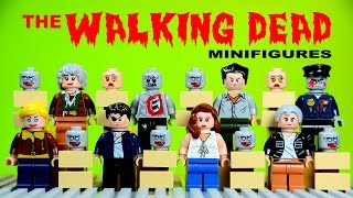 LEGO The Walking Dead Set 2 KnockOff Minifigures Shane Walsh The Governor Lori Grimes