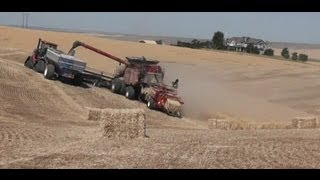 Terra Drive Systems - Bale Direct System Jones Truck & Implement Portland Ag Show 2013