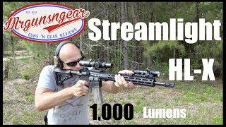 Streamlight Rail Mount HL-X 1,000 Lumen Weapon Light Review (HD)