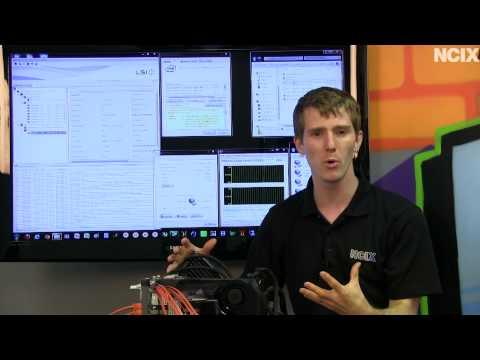 Ultimate Home NAS Setup - 4Gbit Network Connection & 20TB RAID0 Storage Array NCIX Tech Tips