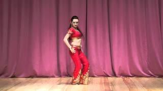 Jimmy Jimmy Aaja Bollywood Dance Stars 2013 Dinara Kozina Moscow
