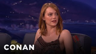 Emma Stone Is Obsessed With K-Pop  - CONAN on TBS
