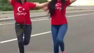 کلیپ رقص دختران ترکیه ایی