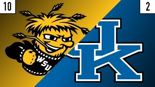 10 Wichita State vs. 2 Kentucky Prediction | Who