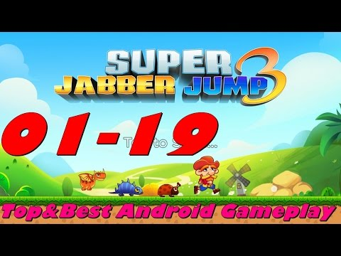 Super Jabber Jump 3 Android Gameplay World 01-19