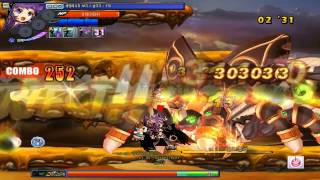 [KGC] Arme's 3rd and 4th job 4MP [Chain Rush and The End] Dungeon Run