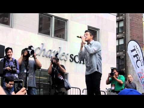 Jericho Rosales in NYC Philippine Independence Parade and Festival