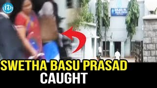 Heroine Swetha Basu Prasad caught in Prostitution