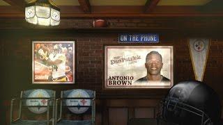 Antonio Brown grew up idolizing Deoin Sanders