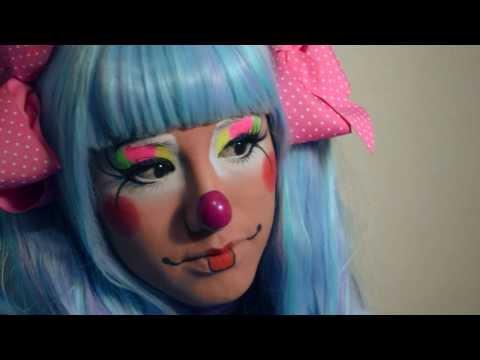 Viviendo una Experiencia Hermosa Payasita Motita Maquillaje Payaso Augusto