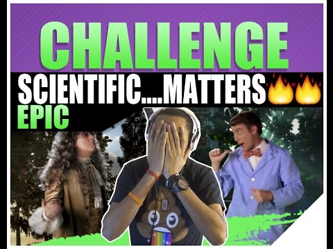 Epic Rap Battles Of History Bill Nye Vs. Sir Isaac Newton Reaction BY ERB   Season 3 (Neil Degrasse)