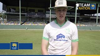 Ireland 'A' captain speaks about playing in the sub-continent