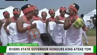 Rivers State Governor honour King Ateke Tom