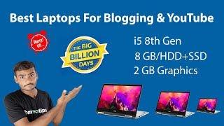 6 Best Laptops For Blogging & YouTube In 2019