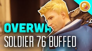 SOLDIER 76 BUFFS! THE TRUE CAPTAIN! - Overwatch Gameplay (Funny Moments)