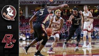Florida State vs. Boston College Basketball Highlights (2018-19)