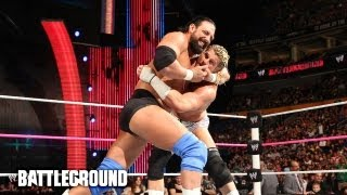 WWE Battleground Kickoff - Dolph Ziggler vs. Damien Sandow