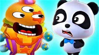 Little Panda Save The Town | Play Puzzle Kids Games | Fun Educational Game For Children