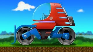 Kids TV Channel | Road Roller | vehicle assembly  | Futuristic Vehicles | Learning Videos For Babies
