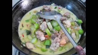 Resep Garang Asem Ayam Bumbu Iris