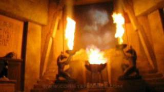 Revenge of the Mummy Front Seat on-ride POV Universal Studios Florida