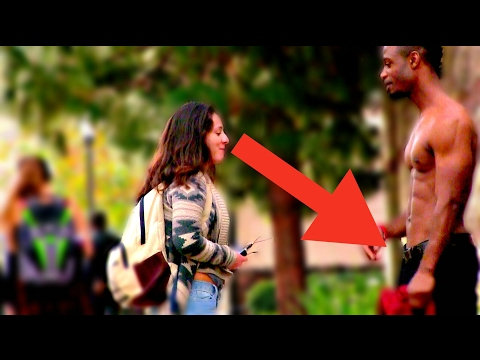 ATTRACTIVE BLACK GUY SOCIAL EXPERIMENT ASKING GIRLS AT UCLA