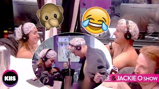 Boss & Employee Get Naked Together For 'Buddies In The Bath' | KIIS1065, Kyle & Jackie O