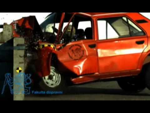 Škoda 120 crash test 50 kph 31 mph