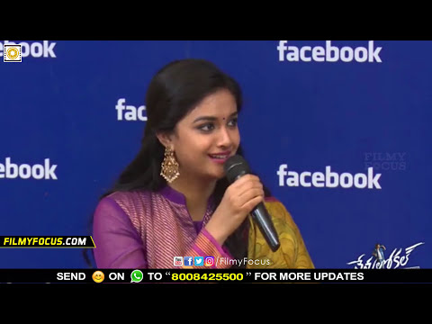 Xxx Mp4 Keerthy Suresh And Nani In Live Show Filmyfocus Com 3gp Sex