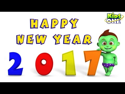 Xxx Mp4 Happy New Year 2017 Funny Cute Best Animated Greetings KidsOne 3gp Sex