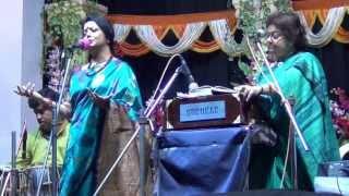 কবিতা ও গানের যুগলবন্দি~~  Jugalbandi~~ Shraboni Sen o Bratati Bandopadhyay
