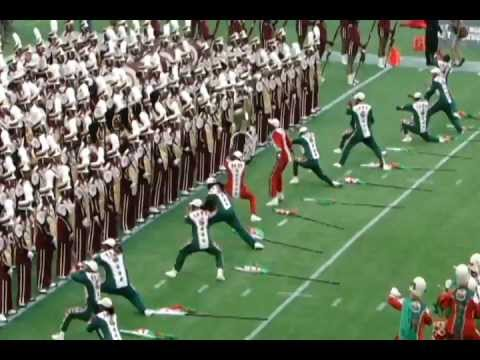 Florida Classic Half-time Show 2011: FAMU Marching 100