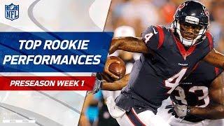 Top Rookie Performances of Preseason Week 1 | NFL Preseason Highlights