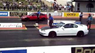 My run VS Honda CRX