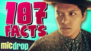 107 Bruno Mars Music Facts YOU Should Know (Ep. #25) - MicDrop