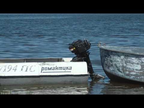 Лодочный мотор гибрид bawad 506 на лодке Романтика