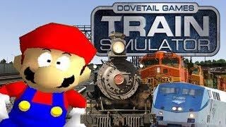 If Mario was in... Train Simulator