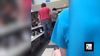 bullying the wrong guy KNOCK OUT