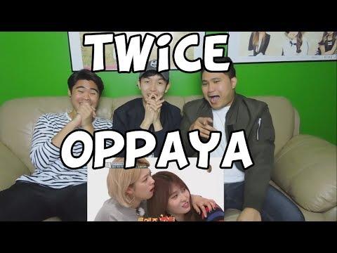 TWICE - OPPAYA REACTION (FUNNY FANBOYS)