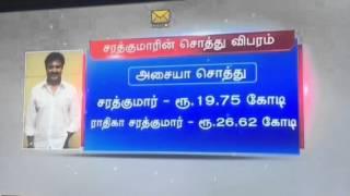 Sarathkumar and Radhika comedy Tamilnadu elections