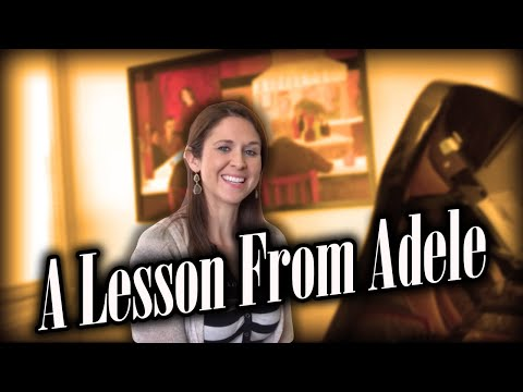 Xxx Mp4 A Lesson From Adele Writing An Epic Melody 3gp Sex