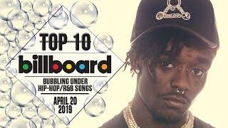 Top 10 • US Bubbling Under Hip-Hop/R&B Songs • April 20, 2019 | Billboard-Charts