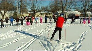Brooklyn Park school uses cross country skiing to balance fitness, academics