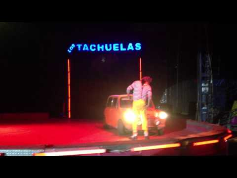 Tachuela Jr. Rutina Auto Loco