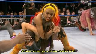 Kiera Hogan - All Face The Music Cradle Neckbreakers & Other Moves - 2019 Collection